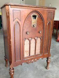 Rogers antique cabinet radio