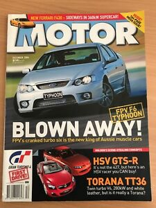 Motor December 2004 issue Isaacs Woden Valley Preview