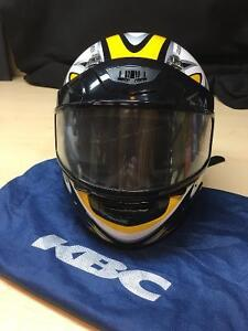 KBC TK-8 Excalibur Helmet, Size Large, Yellow and Black