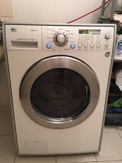 LG 9KG/5KG washing machine dryer $699firm