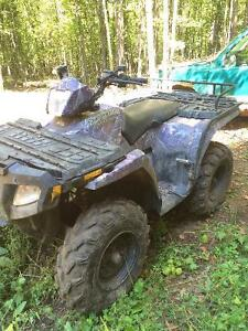 Camo 2005 Polaris sportsman 4x4 500HO Kawartha Lakes Peterborough Area image 5