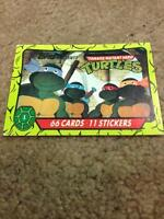 Teenage Mutant Hero Turtles Cards (complete 66 set) $35