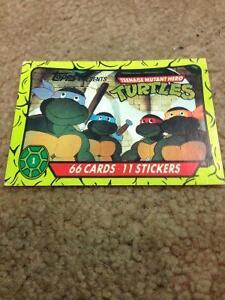 Teenage Mutant Hero Turtles Cards (complete 66 set) $35 Cambridge Kitchener Area image 1