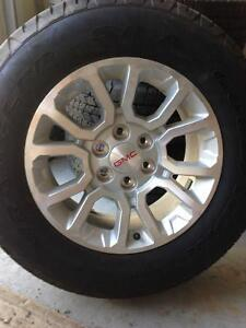 2016 GMC tires and rims brand new!