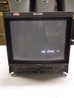 Sony Trinitron BVM-1912 Color Video Monitor ACS System AC-100-12