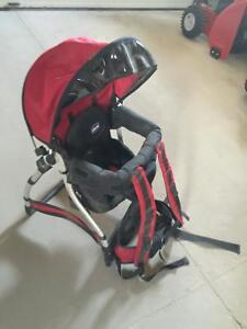 Baby carrier for back