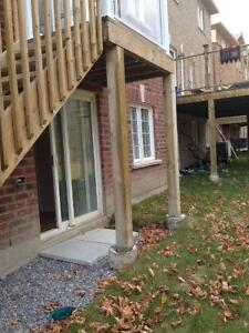 Clean and spacious walkaout basement apartment for rent