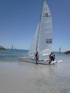NACRA 5.8 #1626 View Askew