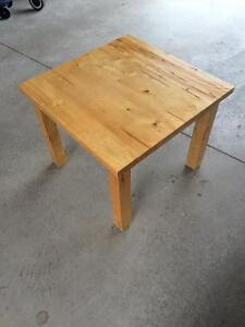 Solid wood table only $35