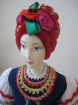 _ Very Nice Ukrainian HAND MADE Porcelain Doll