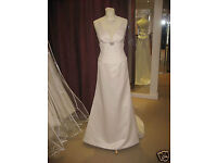 Size 14 Beautiful Ivory Wedding Dress