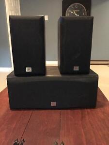 Polk audio/jbl home theatre speakers