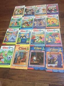 Clue Jr. - Scholastic books