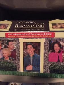 Complete series of Everybody Loves Raymond DVDs --never opened