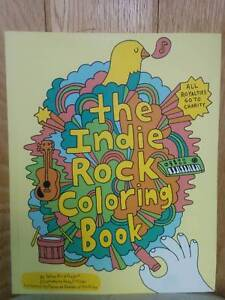 New Indie Rock Music Colouring Book for Adults - 2 Available Strathmore Moonee Valley Preview