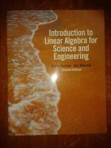 Introduction to Linear Algebra for Science and Engineering Windsor Region Ontario image 1