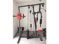 pro power all in one home gym used a few times