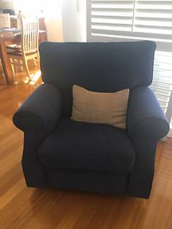 Freedom reclining armchair sofa, superb comfort and condition