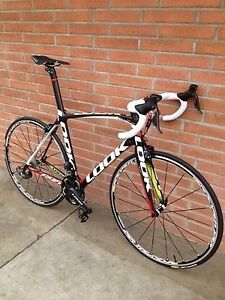 **NEW** LOOK 695 SR Pro Team carbon road bike with Shimano Di2