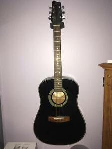 Samick Acoustic Guitar with Case