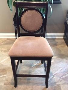 Beautiful Kitchen Counter/Bar Chairs - excellent quality $75 ea
