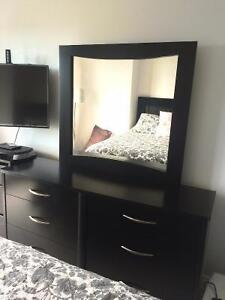*Moving Sale* - King size Bedframe, Dresser and Nightstand