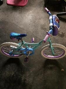 Disney frozen bike