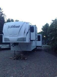 '09 31TS Wildcat by Forest River Fifth wheel