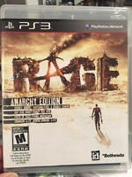 Rage, Anarchy Edition, PS3