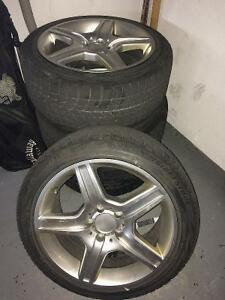 Mercedes winter tire package buy or sell used or new car for Mercedes benz winter tires