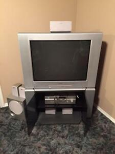 Sony TV and Stereo system for sale