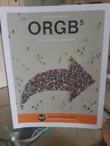 ORGB5; Nelson+Quick; Organizational Behavior; 2015 Perth Perth City Area Preview