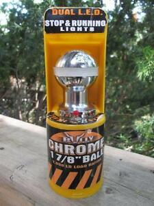 """Bully 1-7/8"""" Chrome Plated Steel Shank Trailer Hitch Ball w. LED London Ontario image 1"""