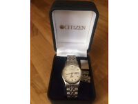 CITIZEN MENS WATCH with BOX good condition