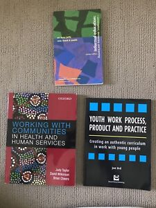 University text books - youth work Swan View Swan Area Preview