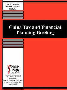 China Tax and Financial Planning Briefing by Katherine Dimancescu