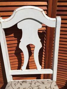 Antique- one of a kind hand made dinning room chairs London Ontario image 3