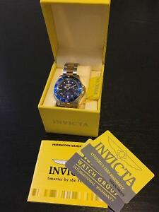 Invicta 8928ob two tone with blue dial