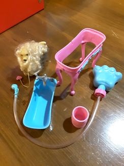 BARBIE furniture and play scenes