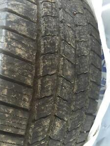 4 Michelin tires from Pathfinder