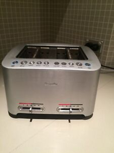 Breville toaster 4 slice Green Valley Liverpool Area Preview