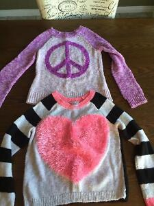 Girls Justice Sweaters-size 7,8