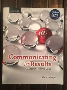 Communicating for Results - Excellent Condition