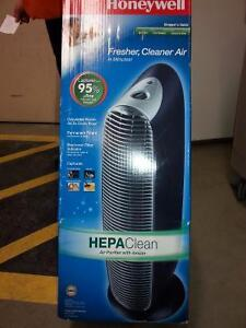 """Brand new """"Honeywell"""" HEPAClean air purifier sale for $130"""
