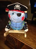 Pirate rocker with musical sounds