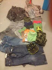 22 piece lot of kids name brand clothing  7/8