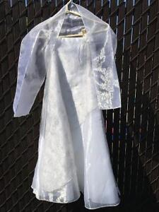 Girls' formal dress with straps