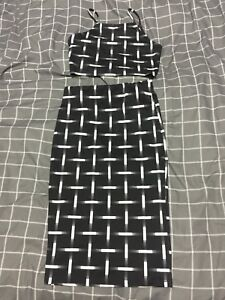 Ice Fashion 2 piece set Crop and skirt Reynella Morphett Vale Area Preview