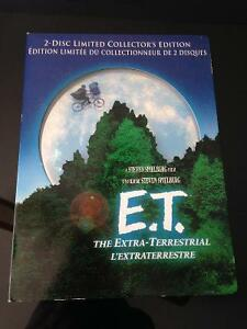 E.T The Extra Terrestrial 2-Disc DVD Limited Collector's Edition