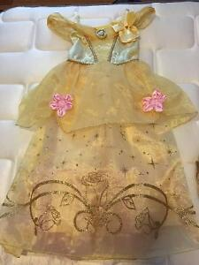 Belle dress size 5/6 and matching shoes